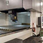 CNC Machining Large Gantry Interior View
